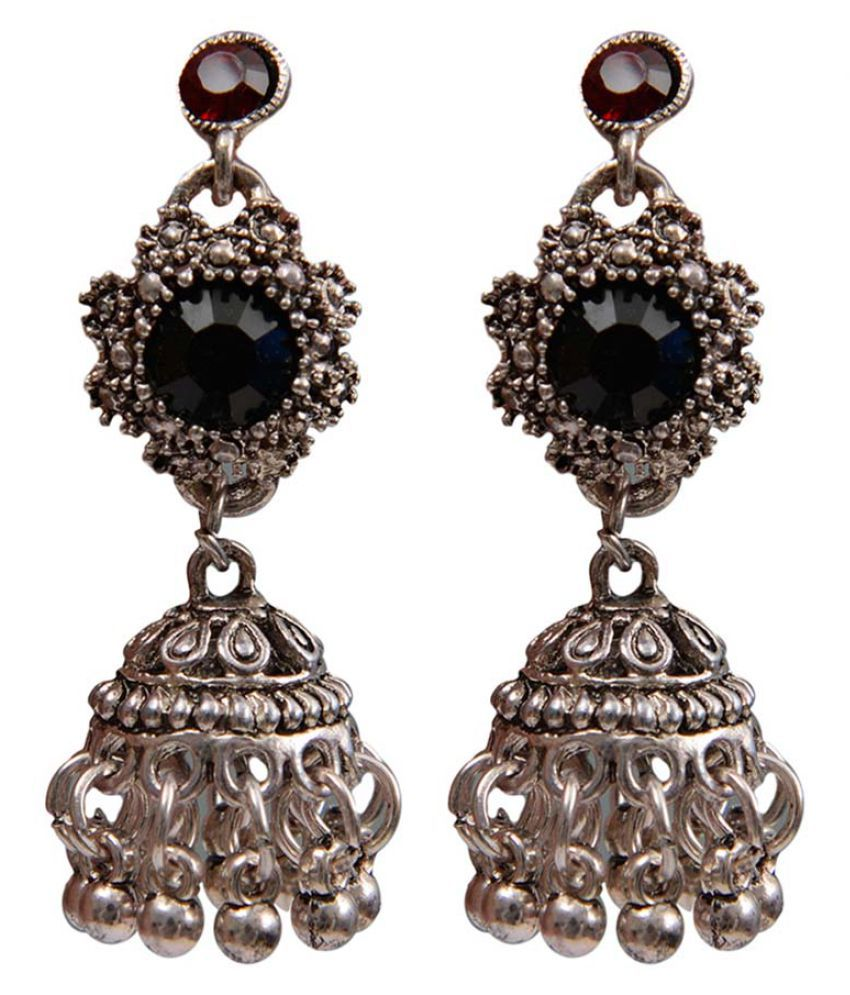 Taj Pearl Traditional Earrings Jhumki