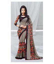 Gazal Fashions Multicoloured Georgette Saree