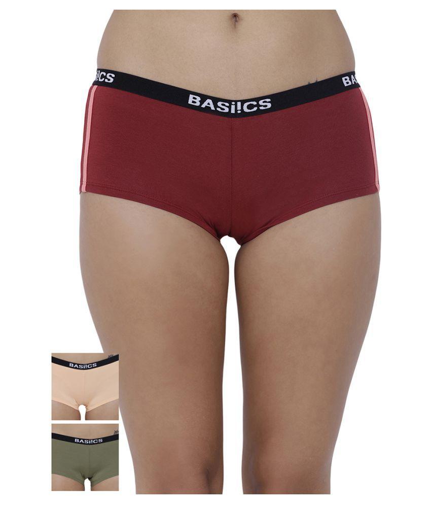 BASIICS by La Intimo Cotton Boy Shorts