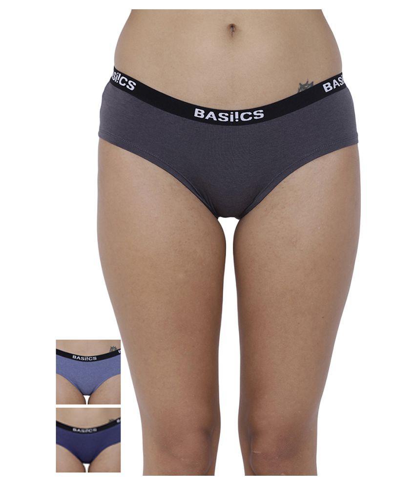 BASIICS by La Intimo Cotton Bikini Panties