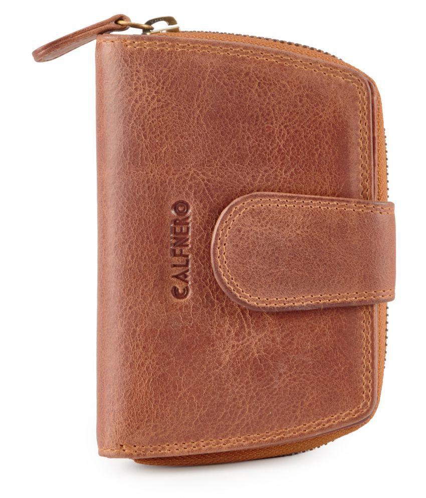 Calfnero Brown Wallet