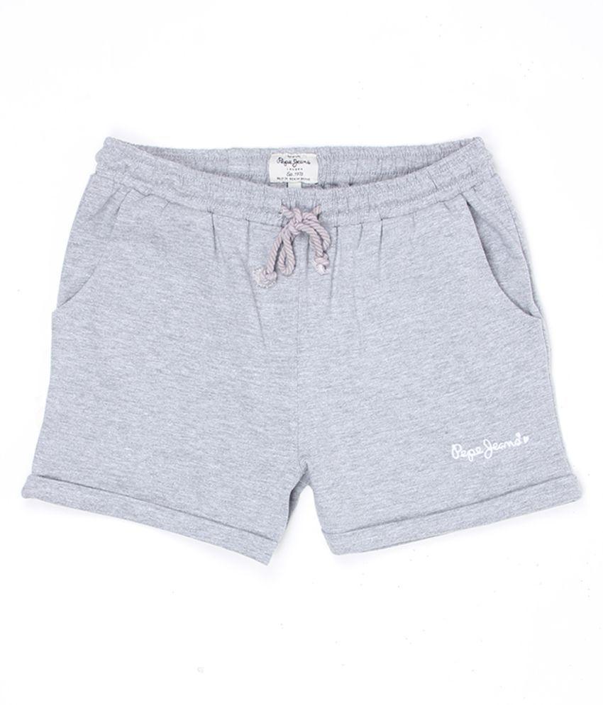 Pepe Jeans Girls Grey Short