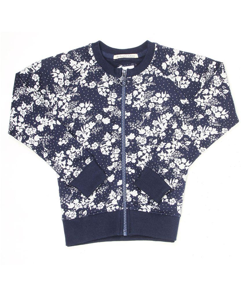 Pepe Jeans Girls Navy Casual Sweat Shirt