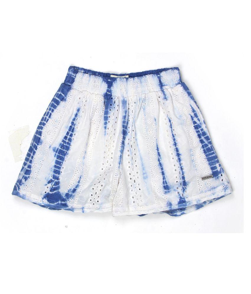 Pepe Jeans Girls White Short