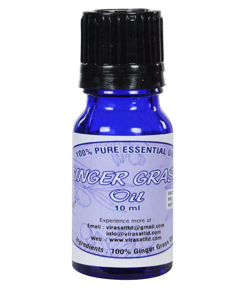 Virasat Ginger Grass Essential Oil 10 ml