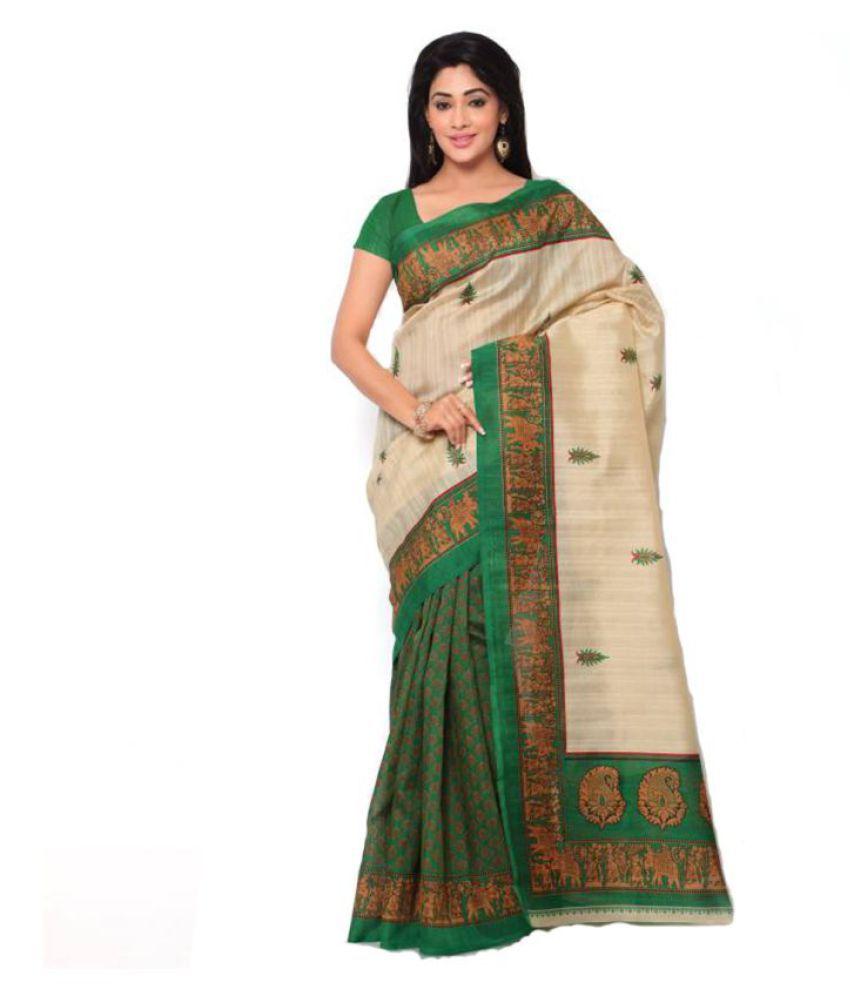kavya Fashion Multicoloured Silk Saree