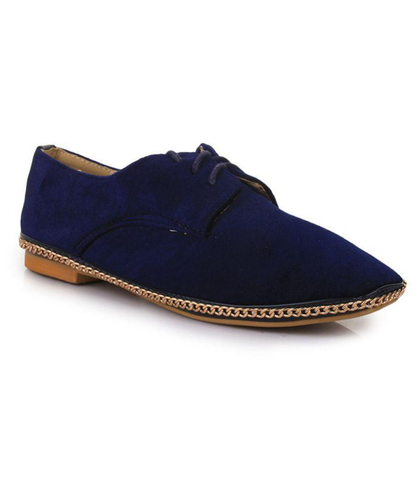 Bruno Manetti Navy Casual Shoes