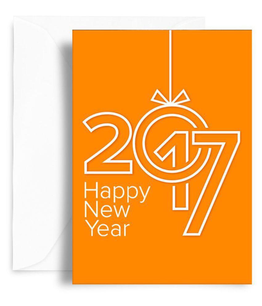 Kaarti Happy New Year Greeting Card Sk0598 Buy Online At Best