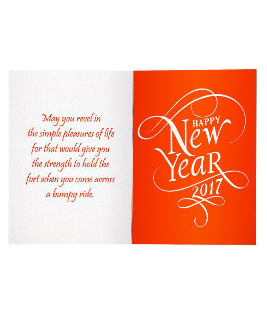 Happy New Year Greeting Card 93