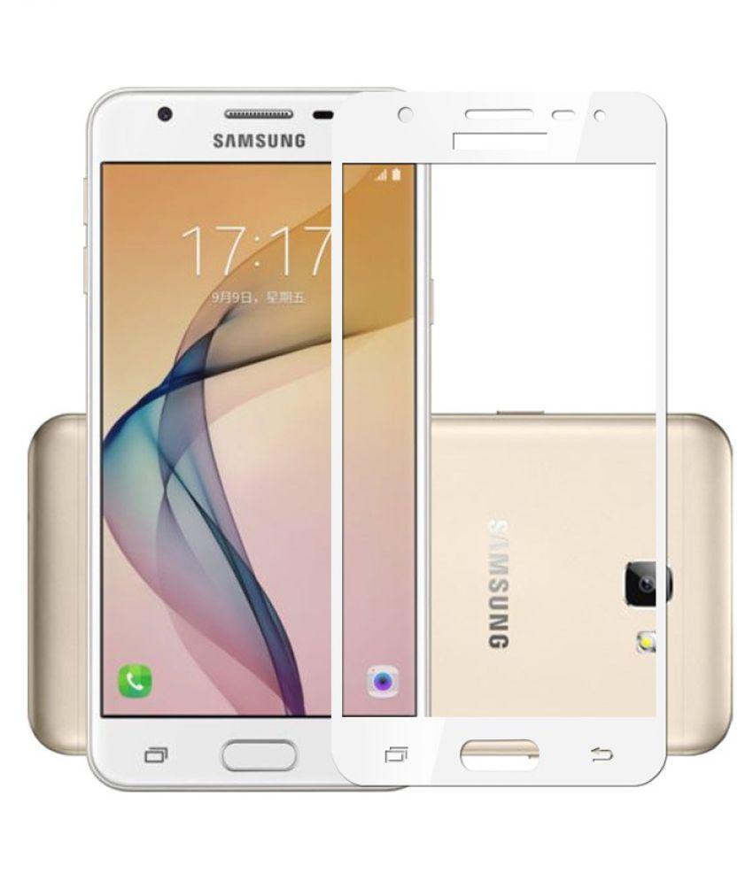 Samsung Galaxy J5 (2016) Color Glass Screen Guard By BLACK ARROW