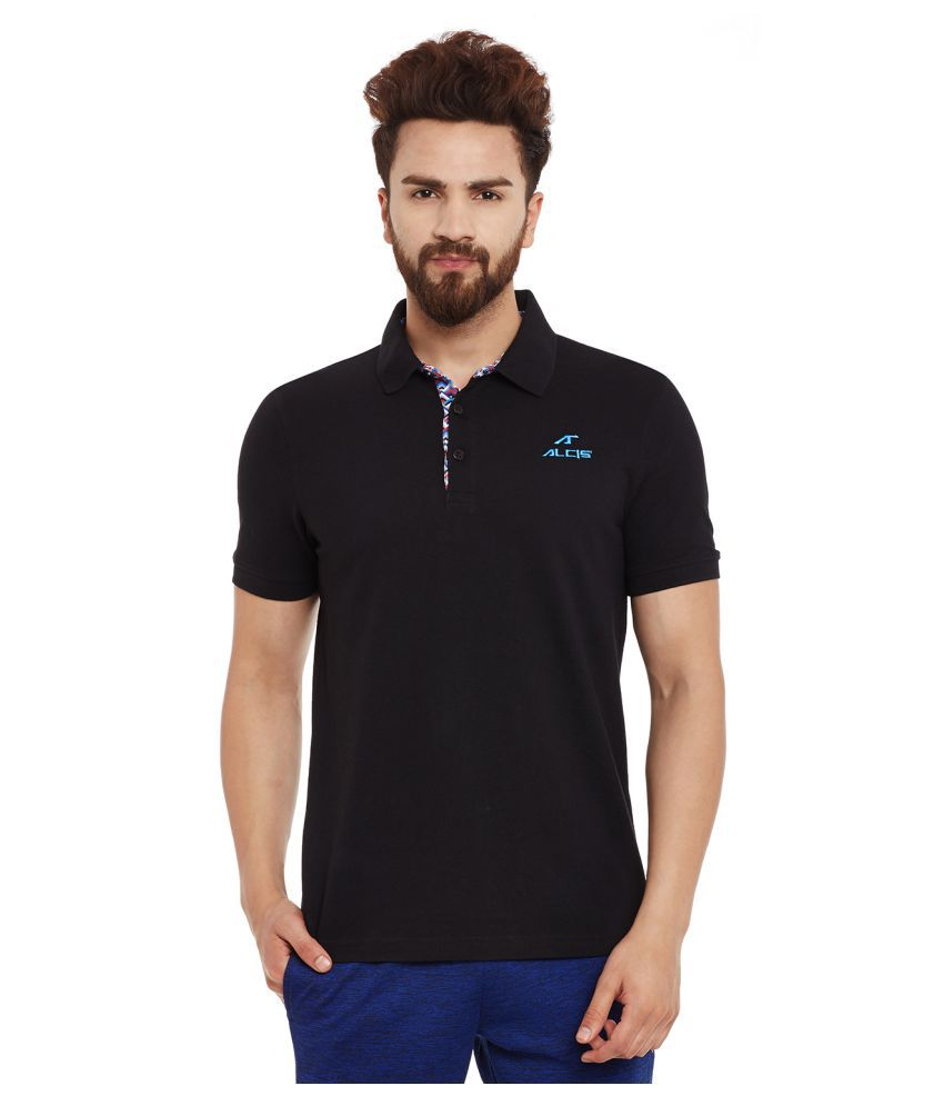 ALCIS MENS BLACK T-Shirts