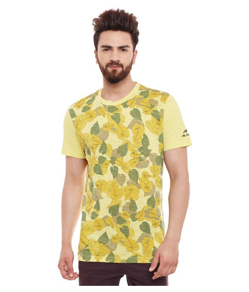 ALCIS MENS YELLOW T-Shirts