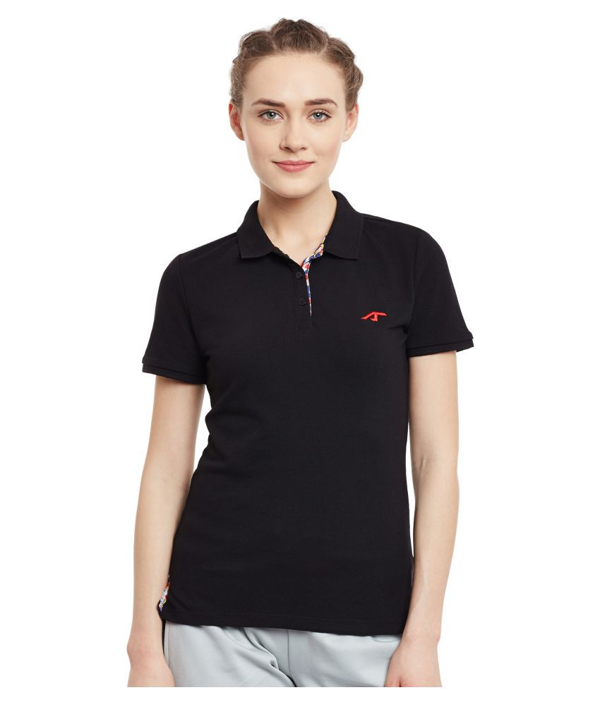 ALCIS WOMENS BLACK T-Shirts