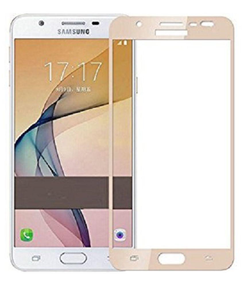 Samsung Galaxy J5 Prime Color Glass Screen Guard By RIGID