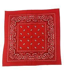 Quick View. Girija Red Printed Cotton Headwraps 20f0fa4c4b08