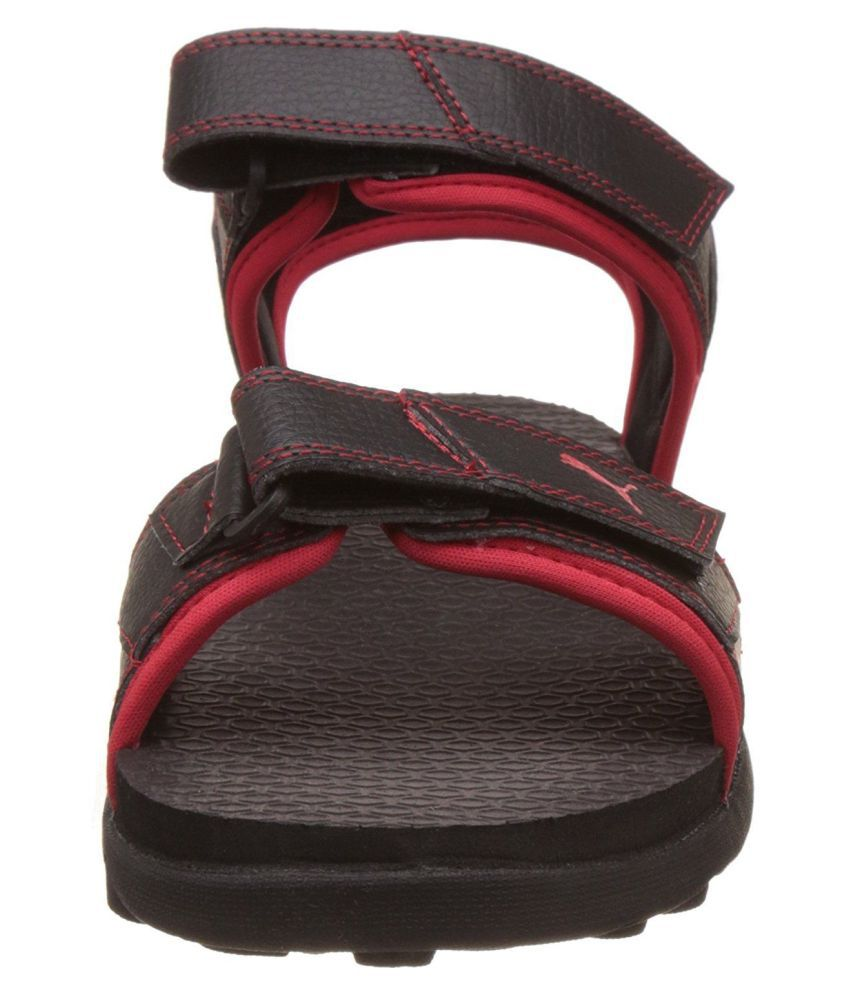 af03d863668e Puma Men s Sonic Athletic   Outdoor Black Sandals Price in India ...