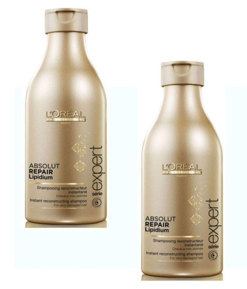 loreal Imported Absolut Repair pack of 2 Shampoo 500 ml
