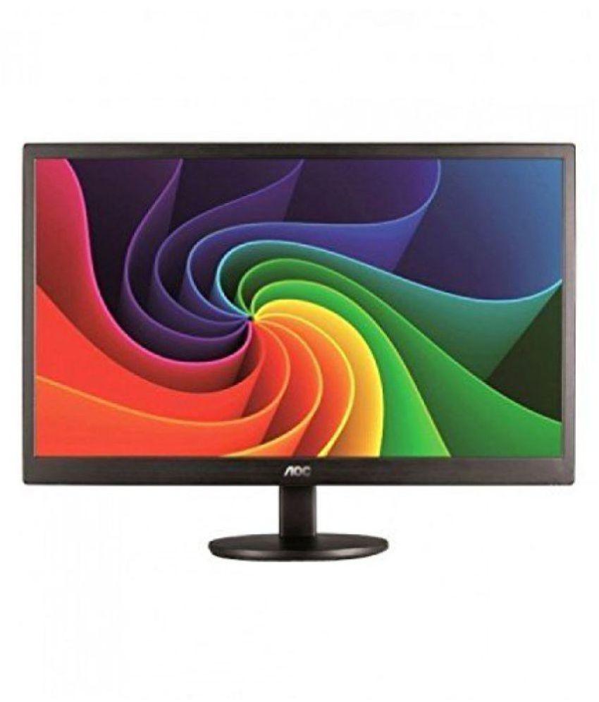 Aoc e1670Swu 39.6 cm (15.6) 1366*768 Full HD LED Monitor