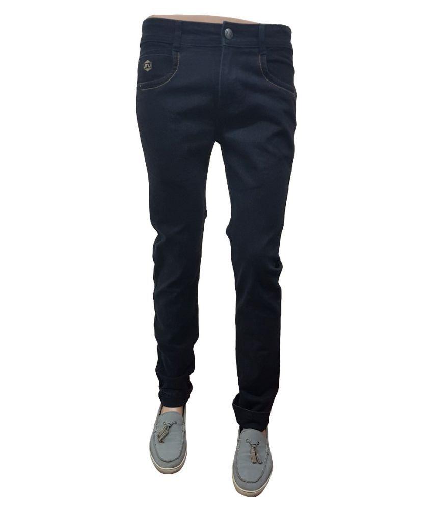 ZIPIT Black Regular Fit Jeans