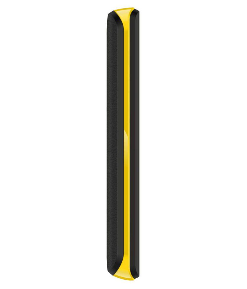 Karbonn Black Yellow K9 Star 32 MB