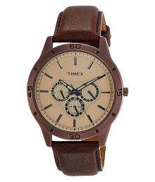 Timex Analog Brown Dial Men's Watch-TW000U915