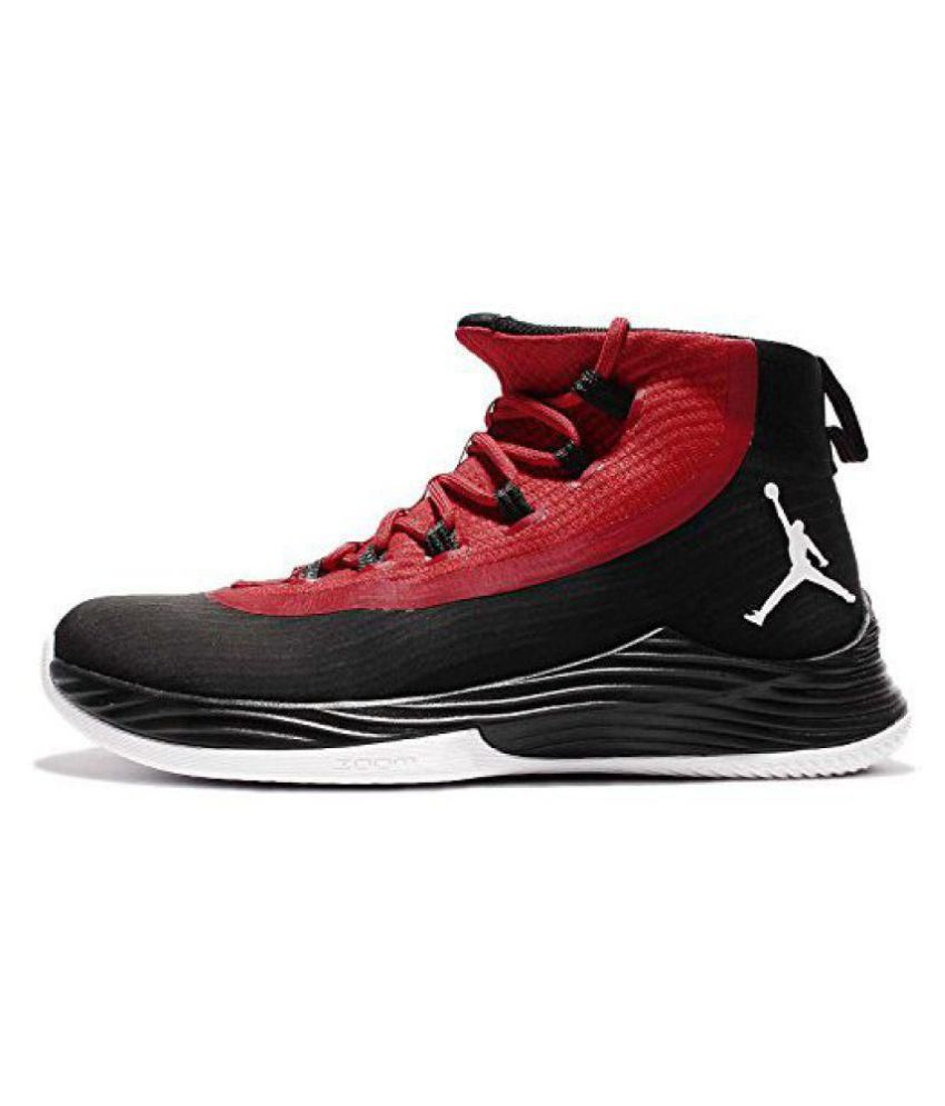 best sneakers c778f a8535 Nike Jordan Ultra Fly 2 Red Basketball Shoes