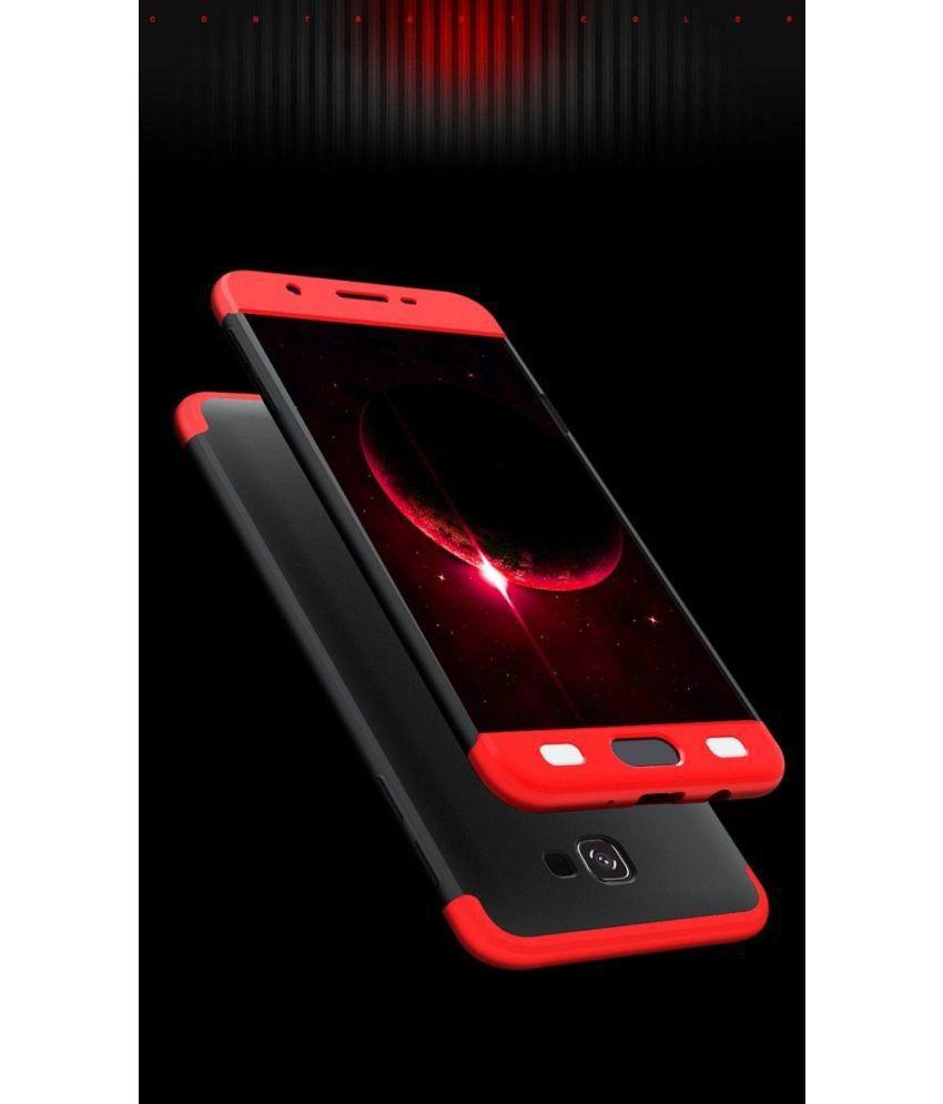 Samsung Galaxy J7 Prime Hybrid Covers KEP - Red