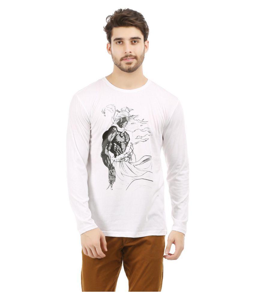 Trends Tower White Round T-Shirt