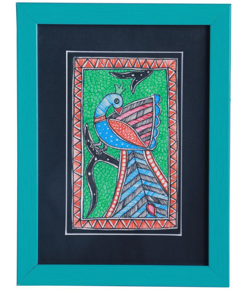 IMITHILA Matte Paper Painting With Frame
