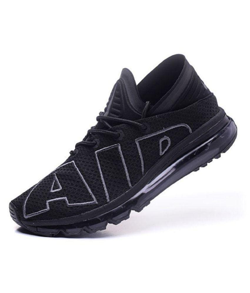 ... Nike Airmax Flair Black Training Shoes ...