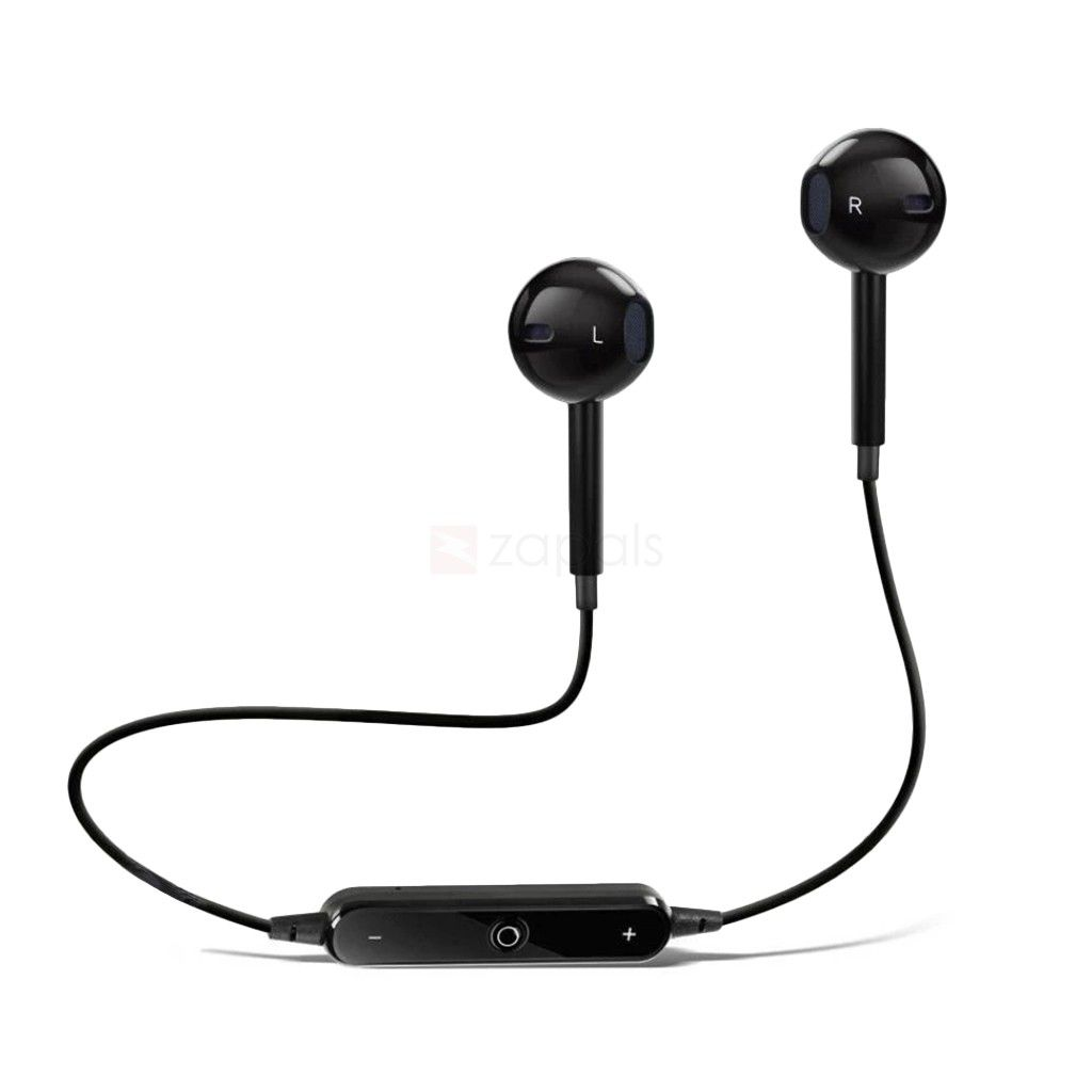SYL Philips S399   Wired Bluetooth Headphone Black