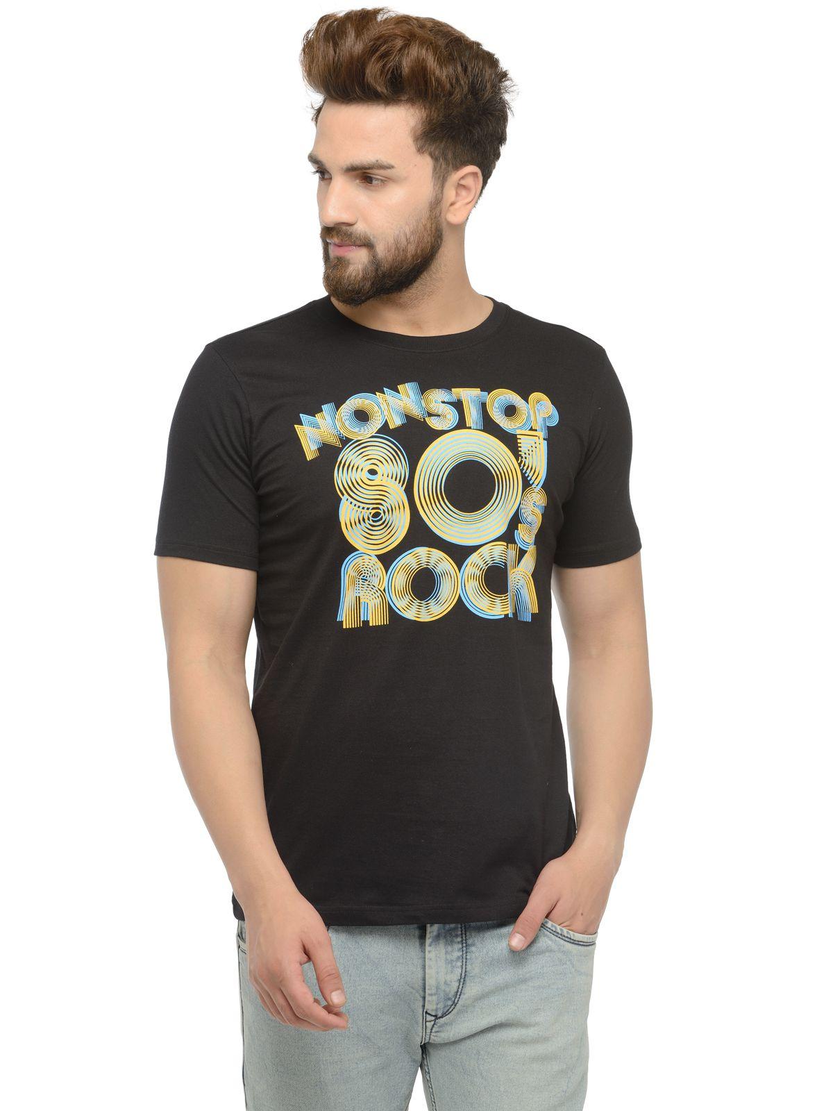 ARKYN Black Round T-Shirt
