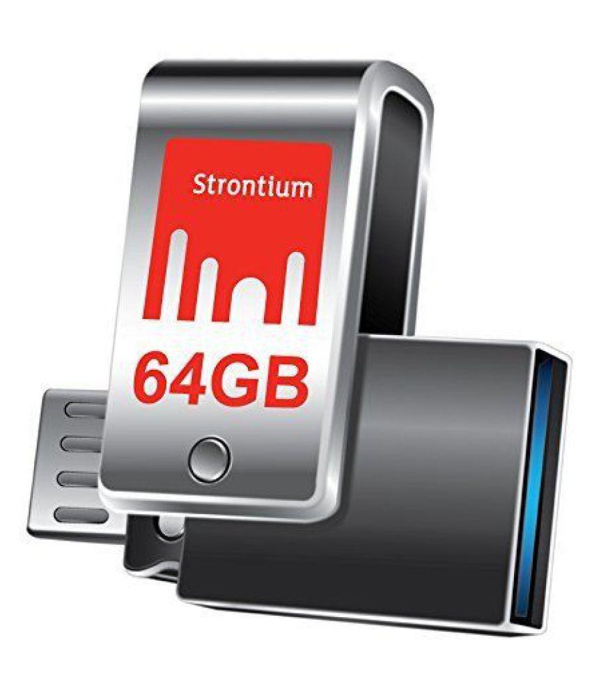 Strontium 64GB USB 3.0 OTG Pendrive Single