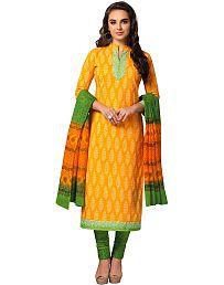 8f1e25130d Gold Salwar Suits: Buy Gold Salwar Kameez Online at Low Prices in ...