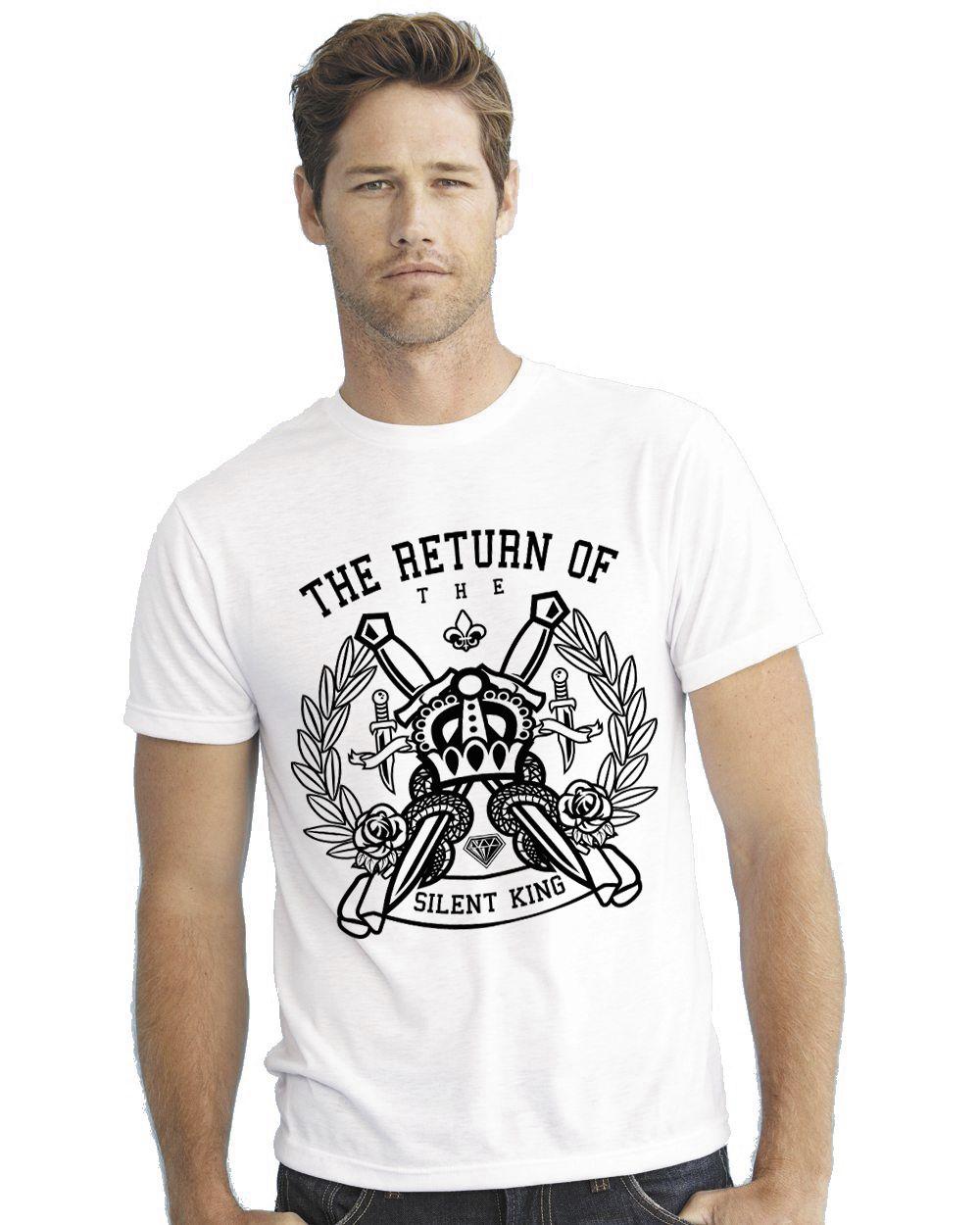 CACA ANP White Round T-Shirt Pack of 1