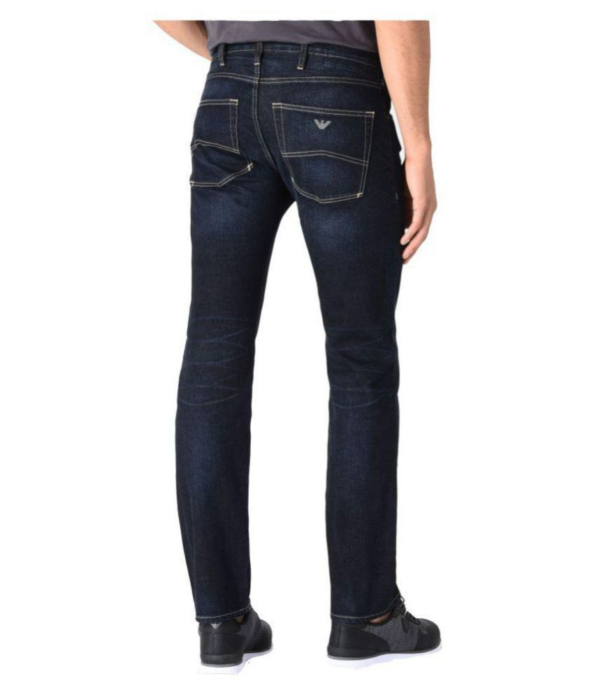 b071aa5c1c Emporio Armani Blue Slim Jeans - Buy Emporio Armani Blue Slim Jeans Online  at Best Prices in India on Snapdeal
