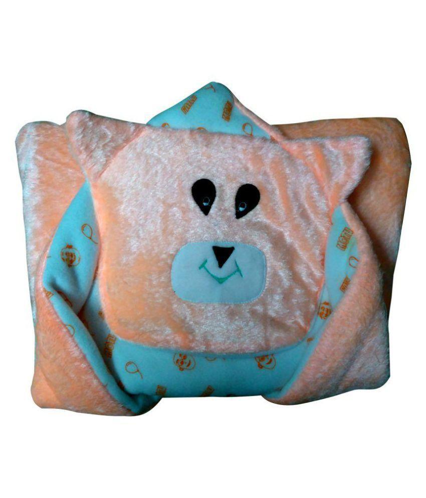 Welo Orange Cotton Sleeping Bags ( 20 cm × 18 cm)