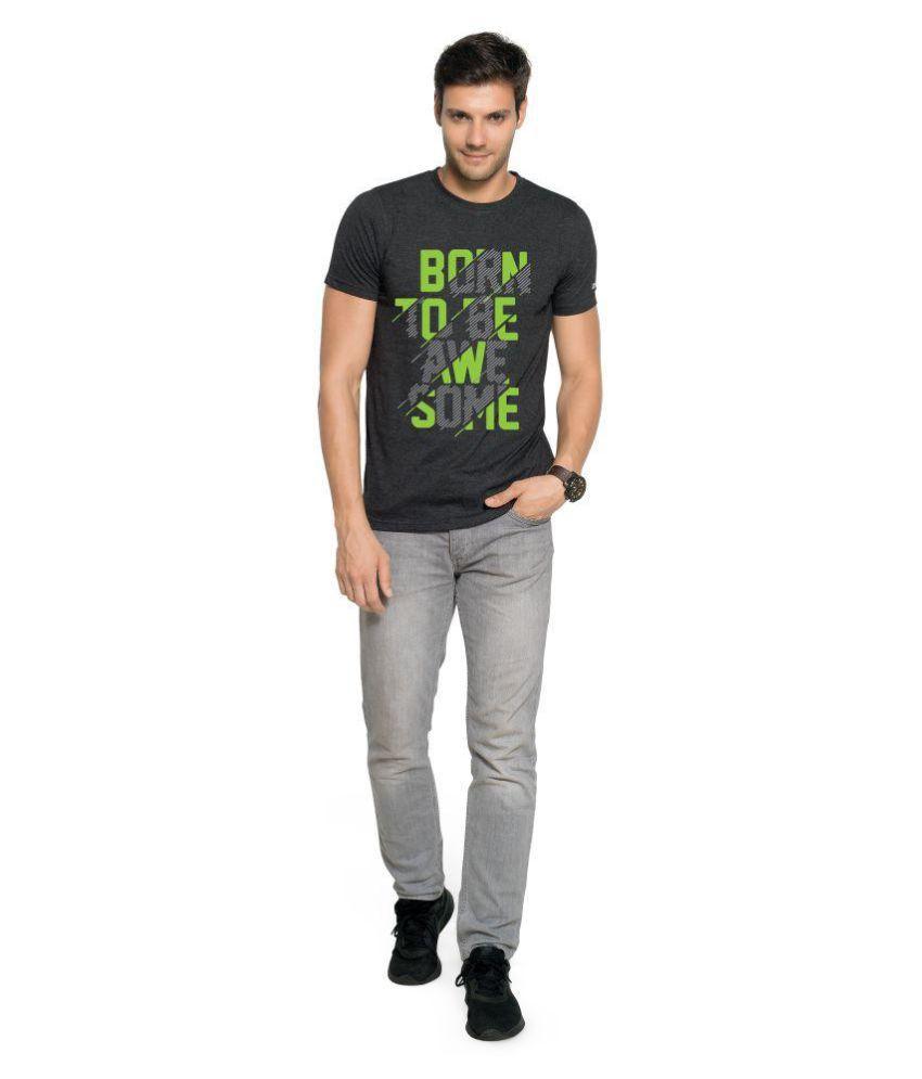 Zorchee Black Round T-Shirt