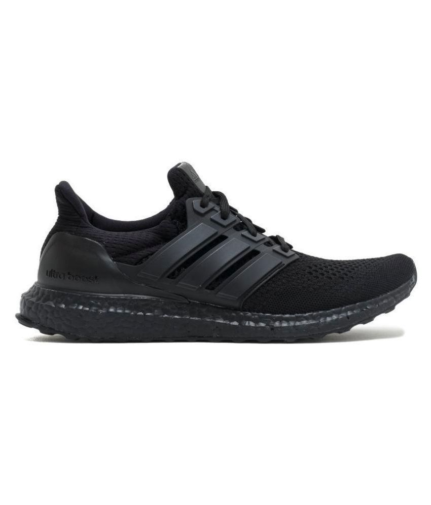 best sneakers 6c11e 2bea5 Adidas Ultra boost Black Running Shoes