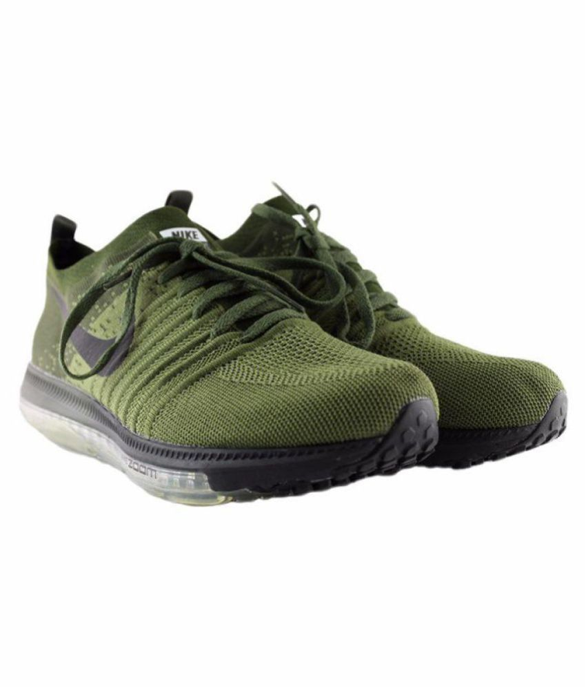 Nike 2017 ZOOM ALLOUT LIMITED EDITION Green Running Shoes - Buy Nike 2017 ZOOM  ALLOUT LIMITED EDITION Green Running Shoes Online at Best Prices in India  on ... 0db9e350a