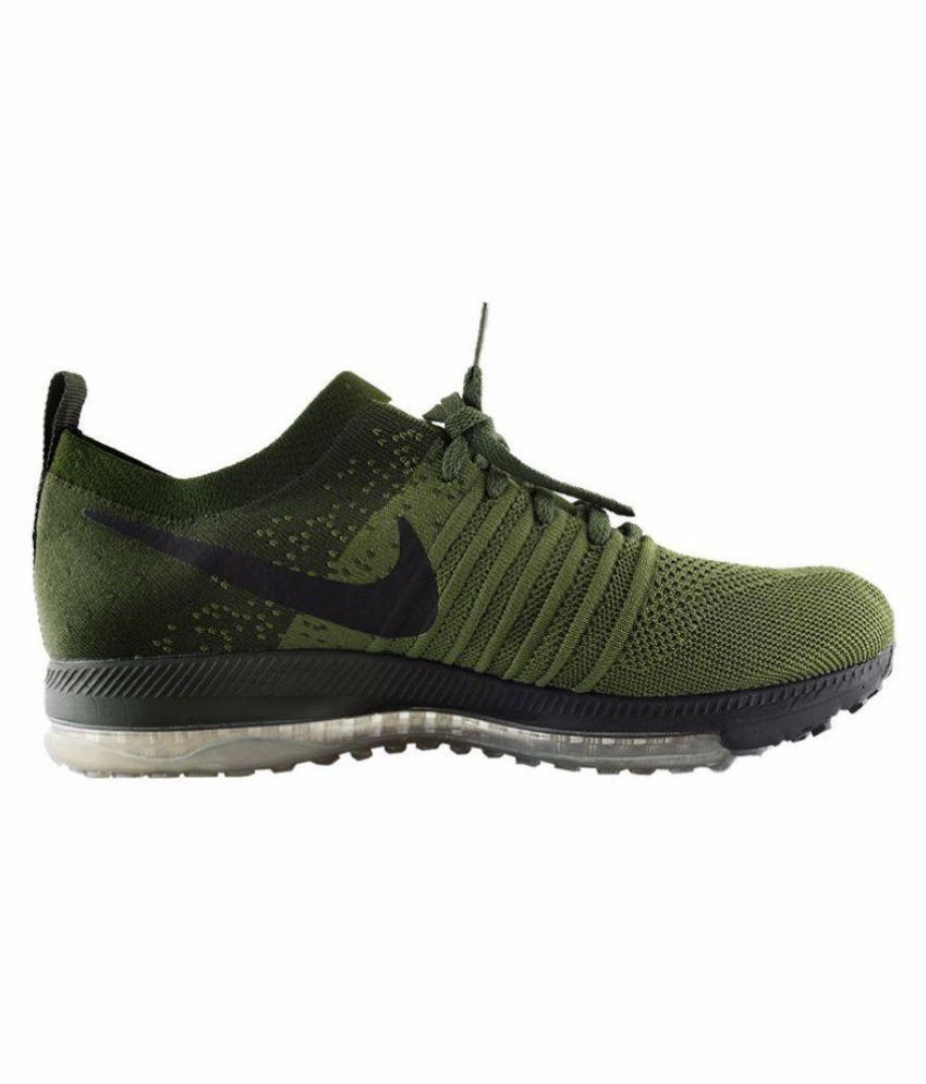 Nike 2017 ZOOM ALLOUT LIMITED EDITION Green Running Shoes - Buy Nike ... 652dd5cba