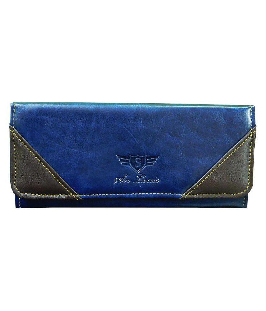 SN LOUIS Blue Wallet