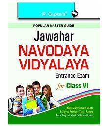 Jawahar Navodaya Vidyalaya Entrance Exam for (6th) Class VI