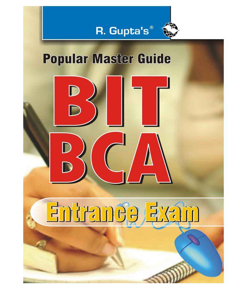 bit bca entrance exam guide buy bit bca entrance exam guide online rh snapdeal com Entrance Exam Pup Main SHS Catholic High School Entrance Exam