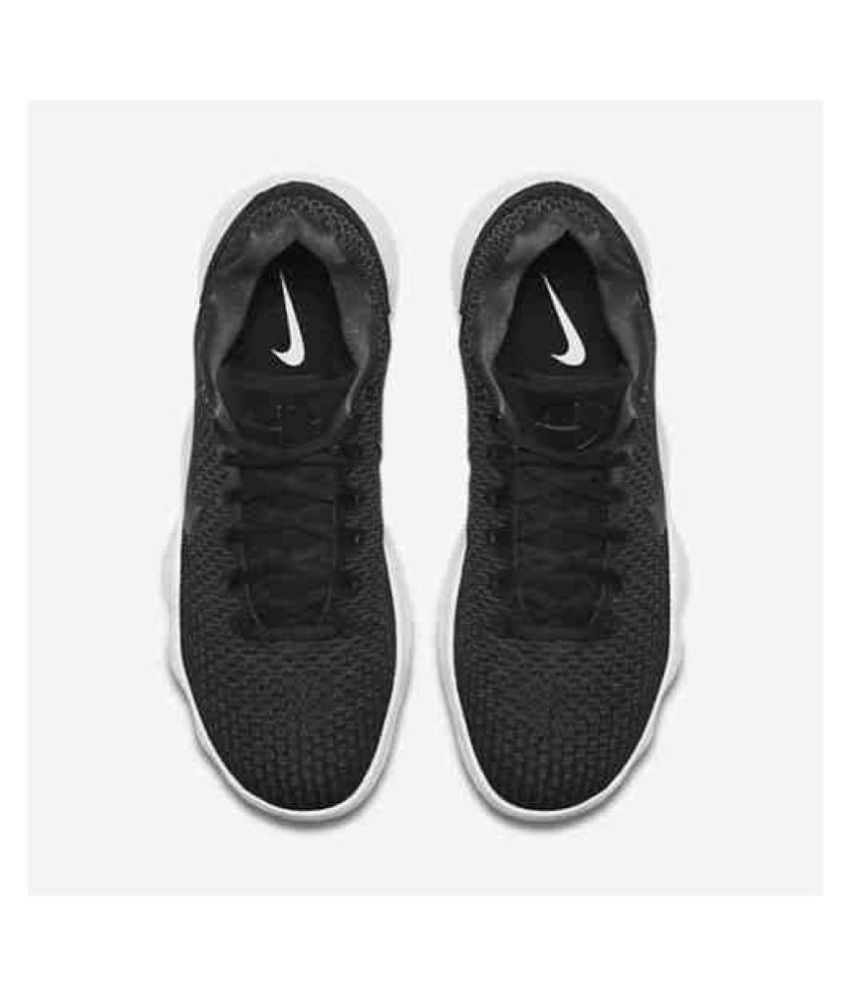 new style 0866c 2d25a ... Nike React Hyperdunk 2017 Low Men s Black Running Shoes ...