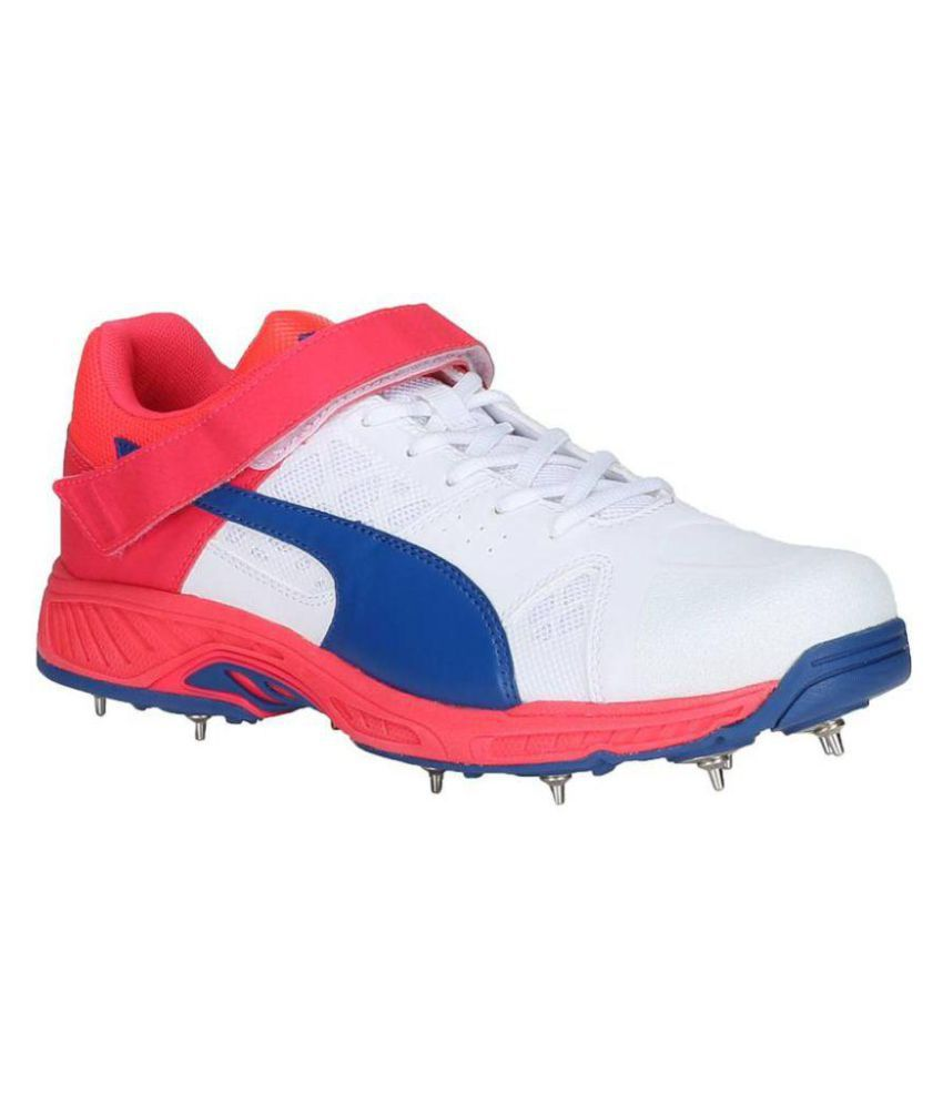 e33789b29 Puma Men evoSPEED Cricket B White Cricket Shoes - Buy Puma Men evoSPEED  Cricket B White Cricket Shoes Online at Best Prices in India on Snapdeal