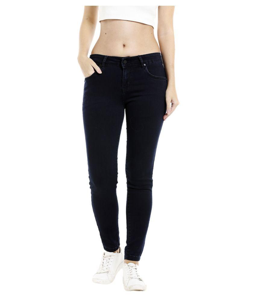 Recap Denim Jeans - Black