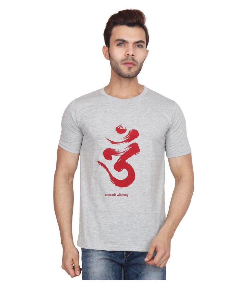 Wamson Grey Round T-Shirt