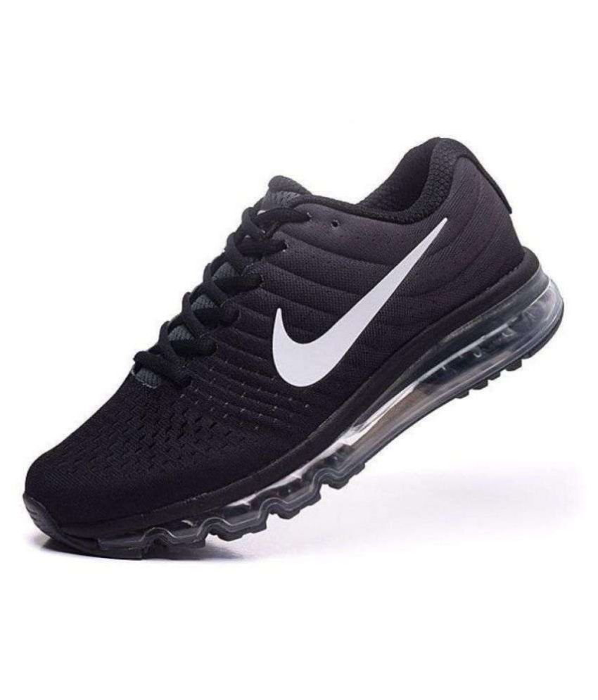Nike Airmax 2018 All Colour Black Running Shoes Online At Best S In India On Snapdeal