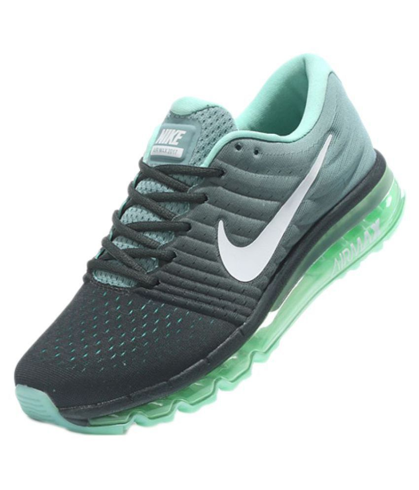 Nike AIRMAX 2017 ALL COLOUR Green Running Shoes - Buy Nike AIRMAX 2017 ALL  COLOUR Green Running Shoes Online at Best Prices in India on Snapdeal